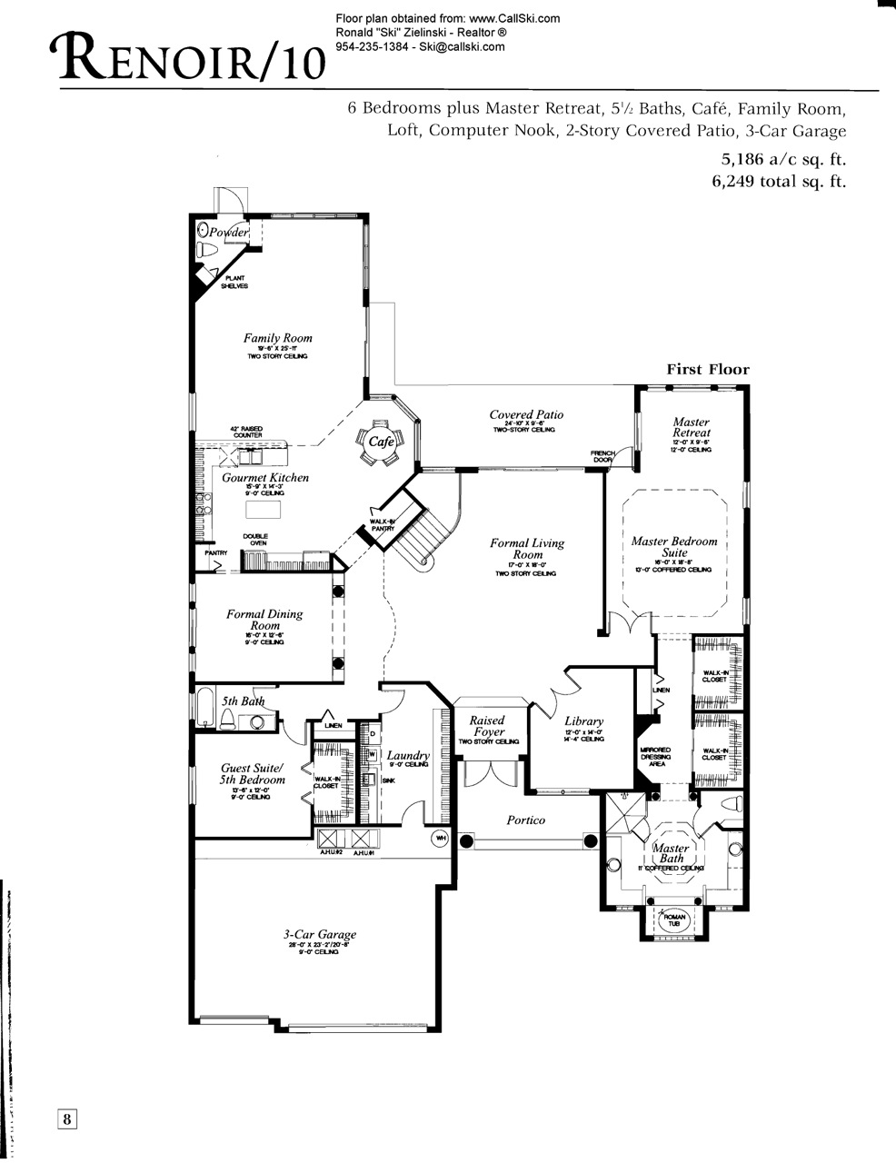 Long lake ranches floor plans and community profile for Florida homes floor plans