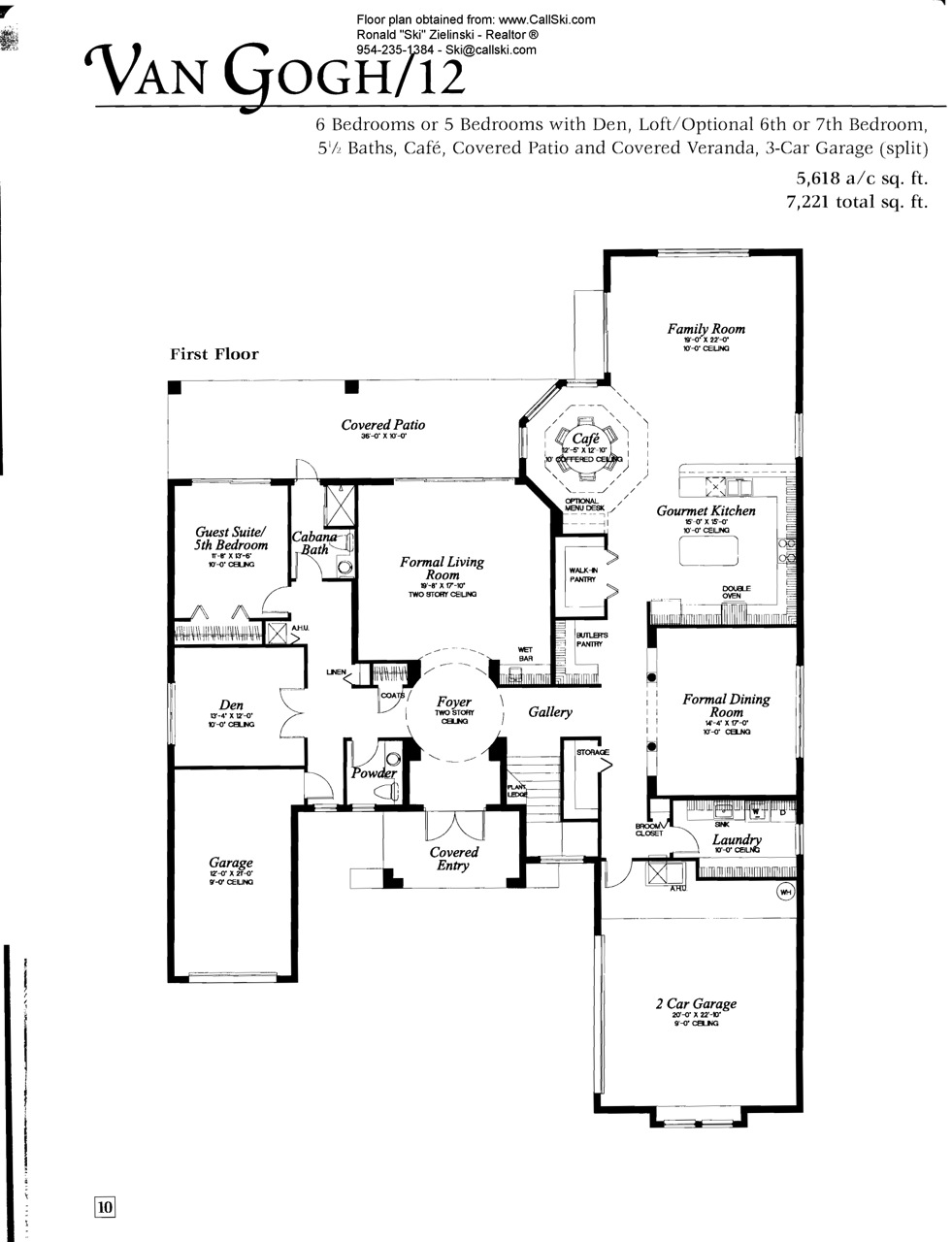 long lake ranches floor plans and community profile long lake van gogh 1st floor